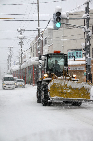 湯沢市積雪情報 2014.12.15.市内の様子1 .jpg