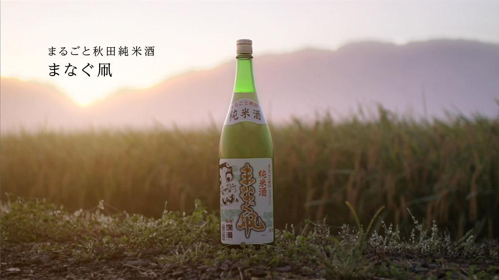 まるごと秋田純米酒まなぐ凧